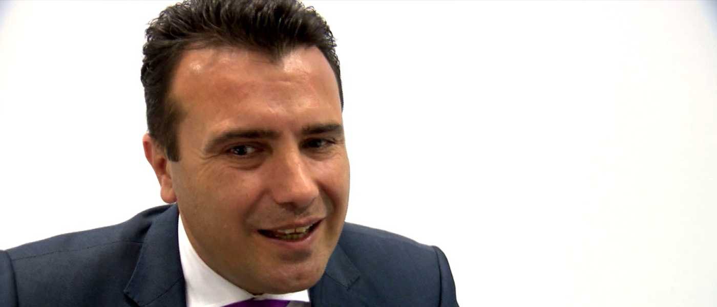 Zoran Zaev on How FYROM's NATO Membership Would Impact the Balkans