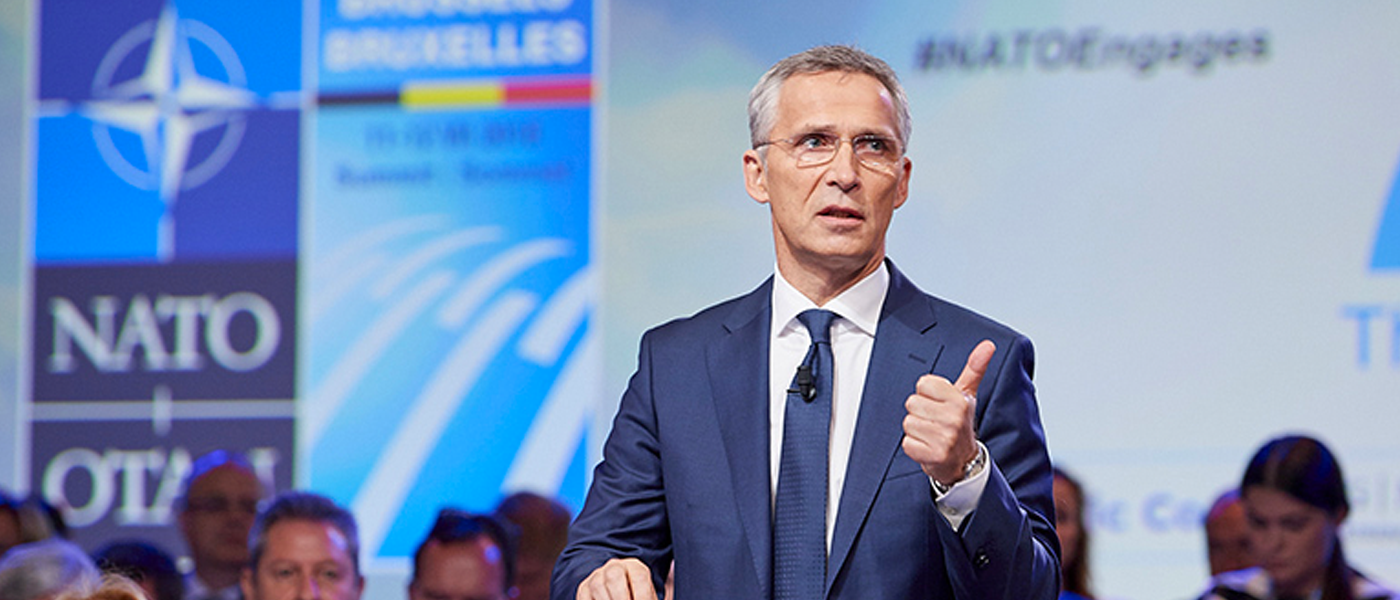 NATO's Stoltenberg Credits Trump as Allies Increase Defense Spending