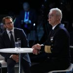 Admiral Manfred Nielson, Deputy Supreme Allied Commander Transformation, NATO and Noam Perski, International Government Lead, Palantir Technologies Inc.