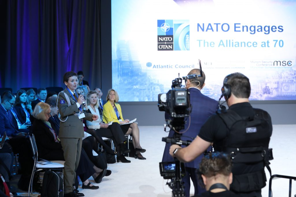 NATO Engages Audience